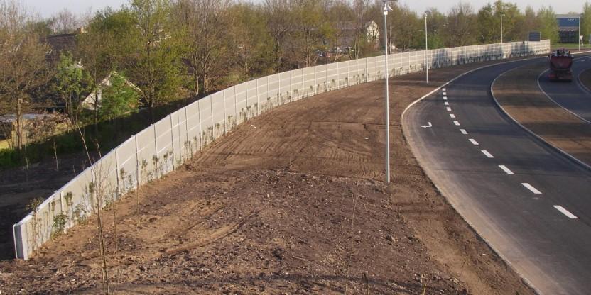 Etablering af adgangsvej og stibro (3)