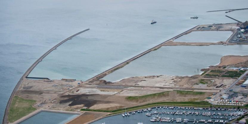 Den nye Køge Havn tager form