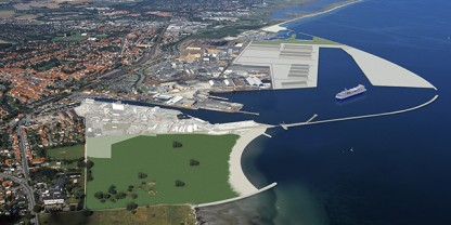 Køge Jorddepot visualiserer Køge Havn anno 2020