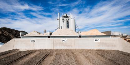 NCC åbner ny fabrik i Køge til produktion af ovntørret sand