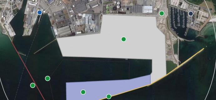 Oversigtsplan for udvidelser af Køge Havn